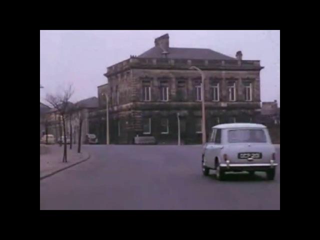A car journey around Halifax West Yorkshire in 1960 West Riding Calderdale
