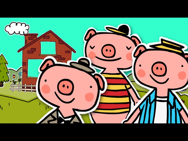 THE THREE LITTLE PIGS The Big Bad Wolf | Fairy tale for kids | 3 Little Pigs Story