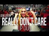 Demi Lovato &ampquotReally Don't Care&ampquot Lip Dub Peters Township High School