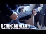 8 String Nu Metal! -  Check the Distortion - MindSplit - Guitar Playthrough