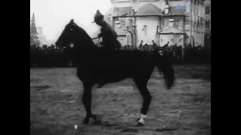 Марш Будёного. Мы красная кавалерия, и про нас... - кинохроника времён Гражданской войны