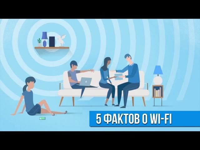 5 фактов о Wi-Fi, которых вы могли не знать.