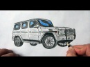 Mersedes Gelenvagen masini nece cekilir Ehedov Elnur Как нарисовать Mercedes Benz Гелендваген