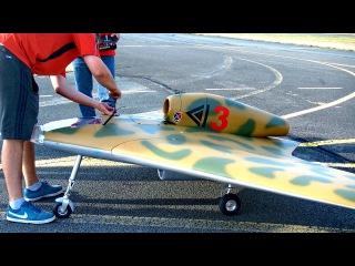 GIANT RC GOTHA P60.A SCALE MODEL TURBINE JET FLIGHT DEMO / United-RC-Flights Bayreuth 2016