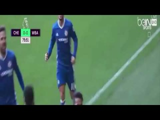Diego Costa Goal Chelsea vs West Bromwich Albion 1 0 UJK ГОЛ КОСТЫ 11 12 2016