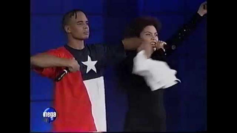 2 Unlimited - Jump For Joy (Live in Vina Del Mar Festival Chile) 1996