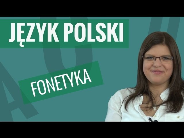 Język polski - Fonetyka (akcent i intonacja)