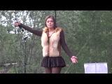 Певица Акула(Оксана Почепа) - Кислотный диджей День молодёжи в Ухте 25.6.2017