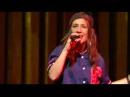 Natalia, slongs en kevin zingen voor nathalie meskens