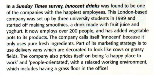 marketing strategy of innocent drinks essay Co-founder of innocent drinks, richard reed explains where the company's creative ideas come from.