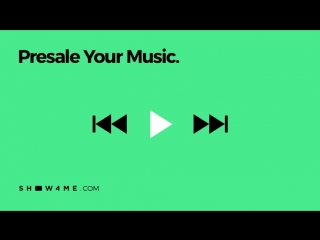 Presale your music