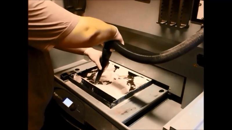Аддитивная технология печати CJP
