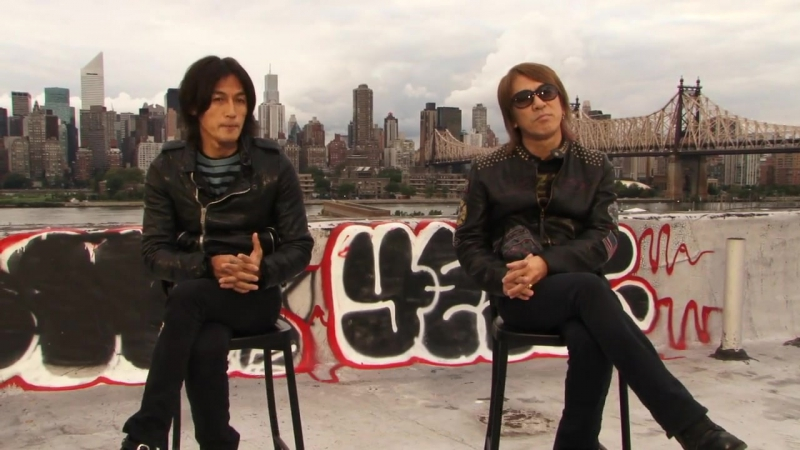 B'z on the origin of their name