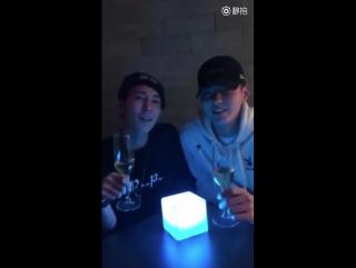 170106 Kris Wu Weibo Update