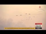 Кадры подготовки пилотов ВКС РФ к конкурсу «Авиадартс»