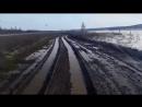 В Якутии такие глубокие колеи, что рулить необязательно (VHS Video)