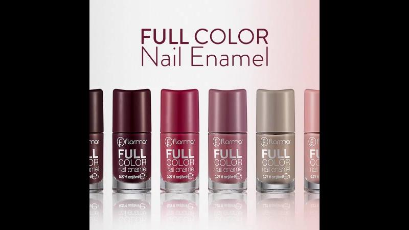 Ваши ногти готовы к лету? С лаком для ногтей Full Color nail enamel это так легко, благодаря простому нанесению и длительной сто