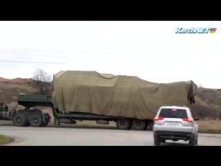 Кремль начал масштабную переброску военной техники в оккупированный Крым
