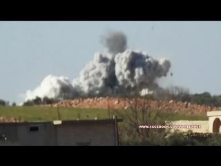 ВКС РФ поджаривают бородатых под Алеппо (Сирия)
