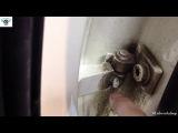 Разбор задняя дверь Audi A3 косяки с проводкой багажника