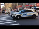 COMPILATION OF NYPD POLICE UNITS RESPONDING IN VARIOUS NEIGHBORHOODS OF NEW YORK CITY. 21