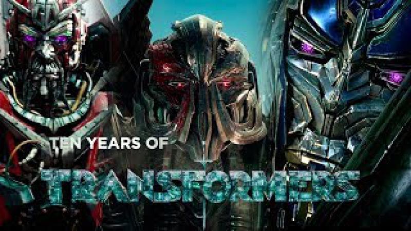 Ten Years of Transformers tribute Tributo a Diez años de Transformers