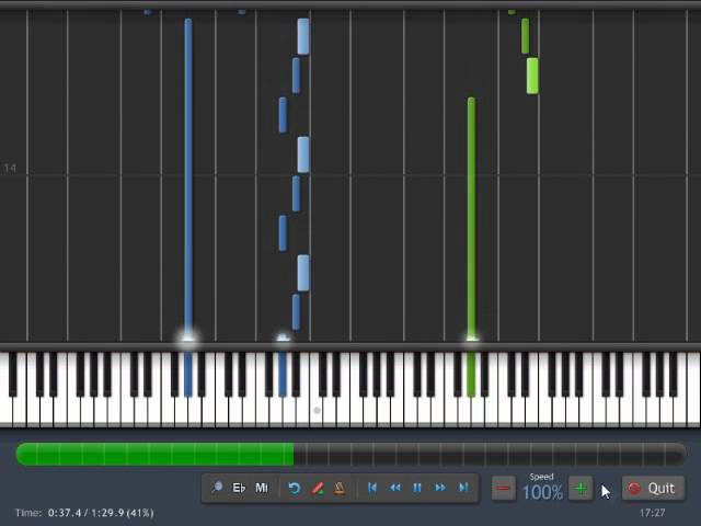 [Synthesia] Lind Erebros - Ancient Crypt (Piano)