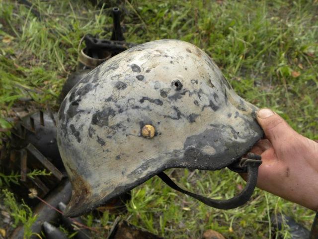 Раскопки немецких блиндажей Ноябрь 2012 \ Digging of German dugouts