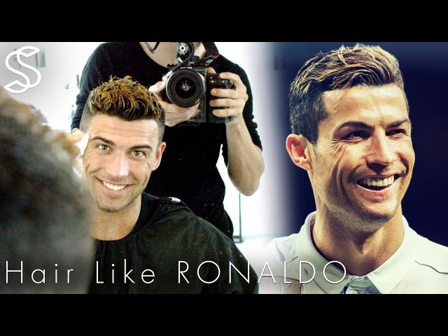 Cristiano Ronaldo hairstyle 2017 short summer haircut with color for men