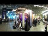 Стенд Mafia 3 на выставке «ИгроМир-2016».  Видео 360