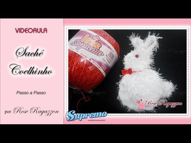 SACHE PERFUMADO COELHINHO - Rose Ragazzon