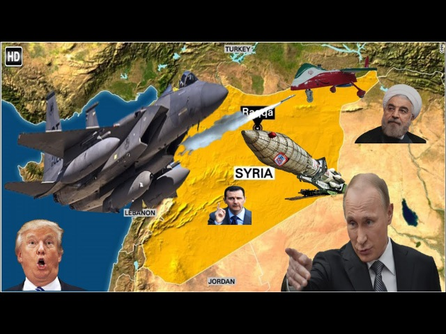 ALERT! US shoots down Iranian drone in Syria Armed Russian jet comes within 5 feet of US recon jet