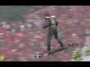 Мужчина на дроне доставил мяч для финала Кубка Португалии по футболу
