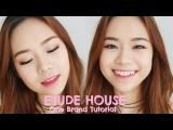 Etude House One Brand Makeup Tutorial &amp Review  Indo sub  Molita Lin