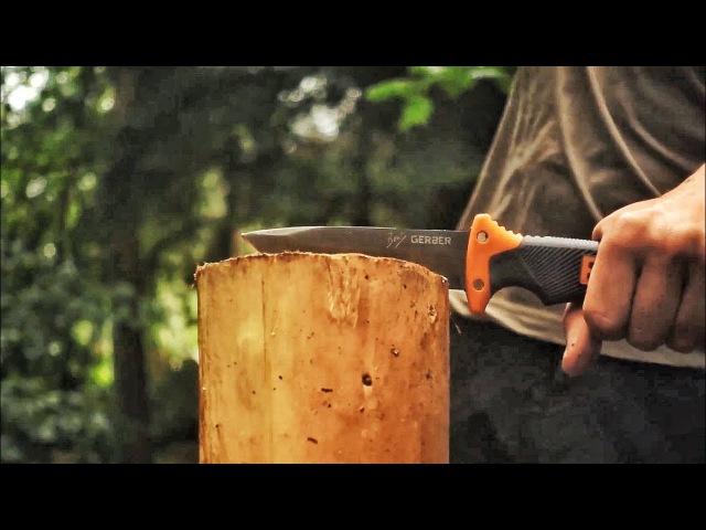 Прикончим легенду Беара Гриллса нож Bear Grylls Ultimate DBK на русском Перевод Zёбры