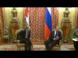 Переговоры С.Лаврова и A.Сафади Sergey Lavrov - Ayman Safadi talks