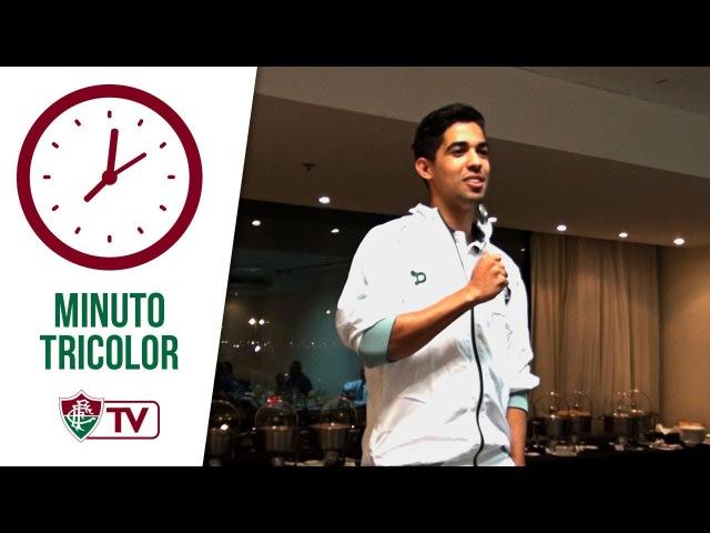FluTV - Luquinhas dança, 'escala o Flu ideal e se apresenta em trote de elenco tricolor!