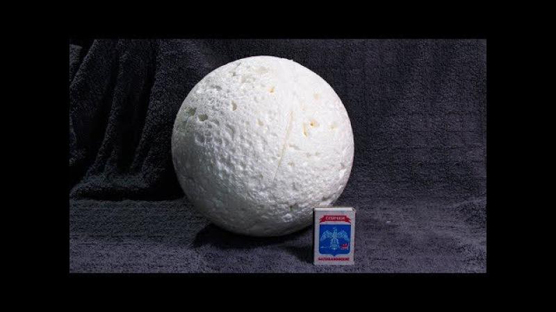 Как сделать большой шар из монтажной пены своими руками 33