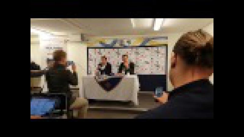 Presskonferensen med Rikard Norlin o Jens Gustafsson efter IFK Norrköping mot AIK 0 0