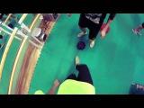 Тест нового мяча Dokaball в школе iFreestyle