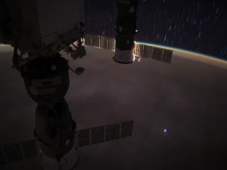 Across the Pacific at night. Courtesy: video eol.jsc.nasa.gov, music Noisia