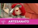 Kombina | Millyta Vergara ensina fazer uma boneca de pano! - 10 de Junho de 2017