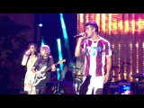 DNCE and Demi Lovato Toothbrush Marriott Rewards #YouAreHere Live