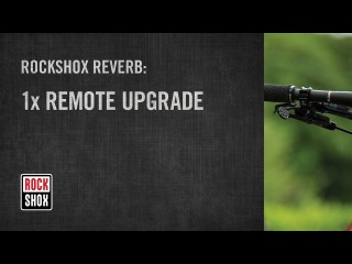 ROCKSHOX Reverb 1x Remote Upgrade Kit Installation