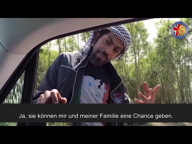 Migranten geben Auskunft Rechte treffen Refugees in Calais Britain First interviewt Flüchtlinge