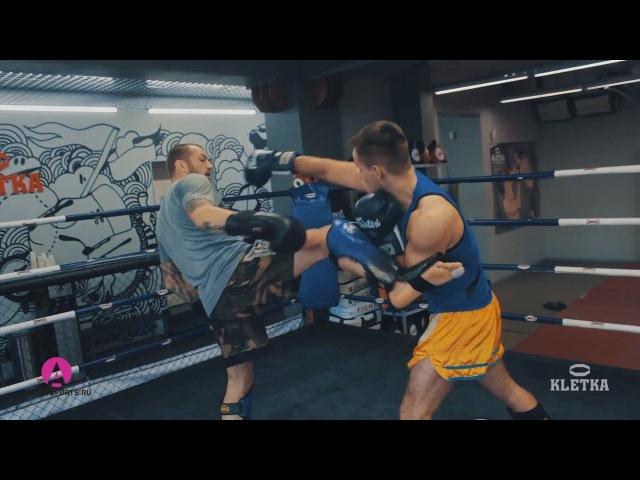 Скоростные удары ногами — мидл-кик в Тайском Боксе / Секреты и техника от Андрея Басынина