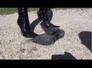 Kelly`s Stiefel Crush Teil 3 / Kelly `s boots Crush Part 3