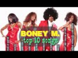 Best Of BONEY M. - Top 10 BONEY M Songs - Playlist On SCREEN (for PC)