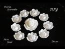 DIY Цветы для декора из подручных материалов. Отличная идея! / Flowers of egg trays