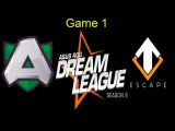 Alliance vs Escape Gaming game 1 ASUS ROG Dream League 6